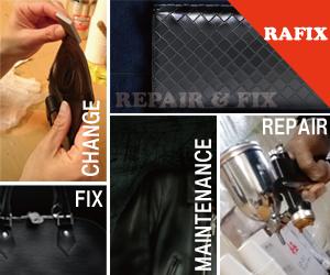 福岡県で財布修理・鞄修理は革製品リペアのRAFIX福岡
